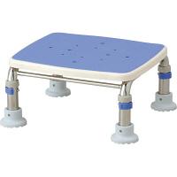 アロン化成 安寿 浴槽台R(ジャスト17.5-25) ステンレス製 ブルー 536-497 1台 (直送品)