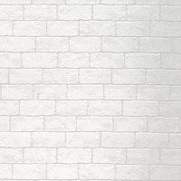 ウォールステッカー KABEDECO 2500mm ホワイトブロック ホワイト KABE-05 東洋ケース 1枚 (直送品)