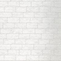 ウォールステッカー KABEDECO 1200mm ホワイトブロック ホワイト KABE-12-05 東洋ケース 1枚 (直送品)
