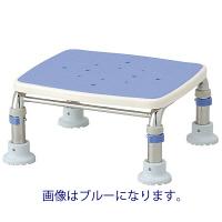 """アロン化成 安寿 浴槽台R""""あしぴた"""" ステンレス製 すべり止め レッド 536-460 1台 (直送品)"""