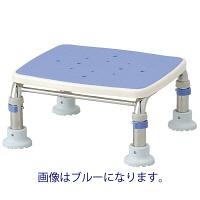 """アロン化成 安寿 浴槽台R""""あしぴた"""" ステンレス製 すべり止め レッド 536-462 1台 (直送品)"""