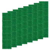 テラモト 人工芝 ユニットターフα 300×300 グリーン (1箱40枚入) (直送品)