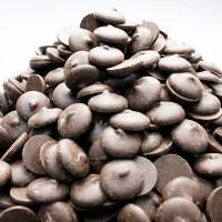 そのまんまディアチョコレート ミルク 徳用約1kg シュガーレスクーベルチュールチョコ 蒲屋忠兵衛商店 (直送品)