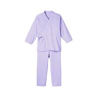 ソフトパジャマ 婦人用 パープル L 5076 1着 日本エンゼル (直送品)