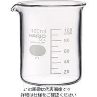 アズワン ビーカー(目安目盛付き) 100mL 1セット(10個) 6-214-03 (直送品)