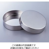 清水アキラ ステンレスシャーレ φ50×15×0.6mm 1セット(10枚) 2-129-01 (直送品)