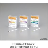アズワン pH試験紙 PP(ポリプロピレン)スティックタイプ 044.3 1セット(1000枚:100枚×10箱) 1-1746-10 (直送品)