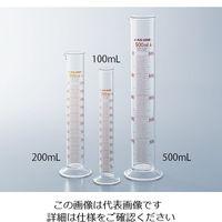 アズワン メスシリンダー 10mL 1セット(5個) 1-8561-02 (直送品)