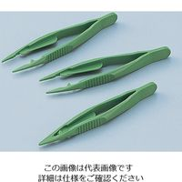 アズワン プラスチックバイオピンセット 10本入 1セット(50本:10本×5箱) 5-5305-01 (直送品)