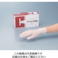 アズワン クリーンノール 手袋 PVC パウダーフリー M 100枚入 PVCパウダーフリー 1セット(500枚:100枚×5箱) 6-905-02(直送品)