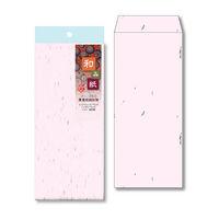 和み紙封筒 長4 さくら 10枚1セット(10枚入X10)(直送品)