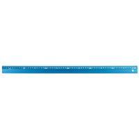 シンワ測定 アルミ直尺 アル助 シャイニングブルー 60cm 65434 1箱(20本入) (直送品)