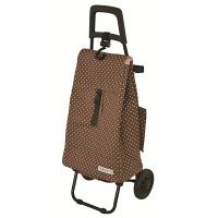 cocoro ショッピングカート ドット ブラウン/ピンク レップ 424520BR レップ 1個 (直送品)