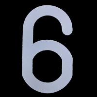 新富士バーナー ロードマーキング用ナンバー L 「6」「9」兼用 RM-116 (直送品)