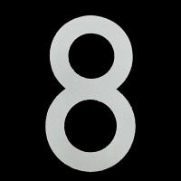 新富士バーナー ロードマーキング用ナンバー L 「8」 RM-118 (直送品)