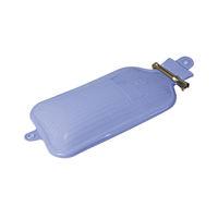 レーベン販売 シリコン水枕 WPS-K01B(ブルー) 本体 86553200 (直送品)