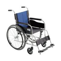 ミキ 車いす 背固定 (400MM) 本体 BAL-0 自走用 アルミ製 (直送品)