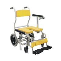カワムラサイクル 入浴用車椅子 イエロー KS12 (直送品)