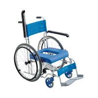 ミキ 入浴用車椅子フローラ(自走用) 本体 MH-43 (直送品)