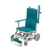 ウチヱ シャワーラクリク(穴無しシート) 本体 キャスター付き 肘掛け跳ね上げ式 SRC-001 1台 入浴用車椅子 (直送品)