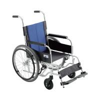 ミキ 車いす 背固定・低座面 (400MM) 本体 BAL-0S 自走用 アルミ製 (直送品)