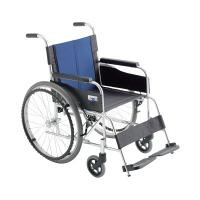 ミキ 車いす 背固定 (440MM) 本体 BAL-0W 自走用 アルミ製 ワイドサイズ (直送品)