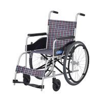 車いす 背固定 本体 NEO-0 日進医療器 自走用 アルミ製 (直送品)