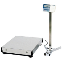 <LOHACO> エー・アンド・デイ(A&D) 取引証明用(検定付) 大型デジタル台はかり 地区2 秤量(300kg/600kg) HV-600KGL3-K 1台 (直送品)画像