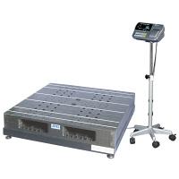 エー・アンド・デイ(A&D) 取引証明用(検定付) パレット一体型 デジタル台はかり 地区2 1200kg SN-1200K-K 1台 (直送品)