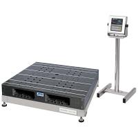 エー・アンド・デイ(A&D) 取引証明用(検定付) 防塵・防水 パレット一体型 デジタル台はかり 地区4 1200kg SN-1200KWP-K (直送品)