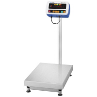 エー・アンド・デイ(A&D) 取引証明用(検定付) 防塵・防水 デジタル台はかり 地区2 150kg SW-150KL-K 1台 (直送品)