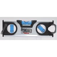 シンワ測定 ハンディレベル MEGA-MAG 150mm 白 マグネット付 73132 1セット(3本) (直送品)