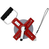 ヤマヨ測定機 精密測量用巻尺 ホワイトリール 50m WR50 (直送品)
