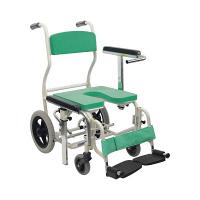 カワムラサイクル 入浴用車椅子 グリーン KS12 (直送品)