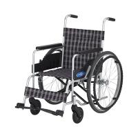 車いす 背固定・低床(400MM) 本体 NC-1H 日進医療器 自走用 アルミ製 (直送品)