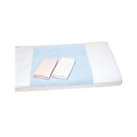 松本ナース産業 耐熱防水タオルシーツ(部分) サックス 505 (直送品)