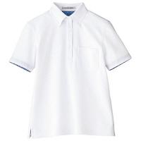 【メーカーカタログ】ボンマックス レディス吸水速乾ポロシャツ(花柄A) ホワイト 3L FB4018L 1枚 (直送品)