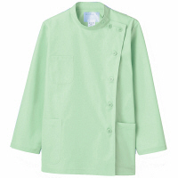 住商モンブラン ケーシー(レディス・長袖) 医務衣 医療白衣 ミント S 52-007 (直送品)