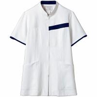 【メーカーカタログ】 住商モンブラン レディスジャケット 白/ネイビー S 73-2088-S 1枚 (直送品)