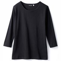 住商モンブラン Tシャツ(男女兼用) 8分袖 黒 S CE423-1 (直送品)