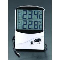 エスコ(esco) [室内・室外]最高・最低温度計(デジタル) 1セット(2個) EA728AC-15 (直送品)
