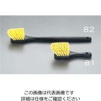 esco(エスコ) 245mm洗浄ブラシ(ハード) EA928BJ-81 1セット(5本) (直送品)