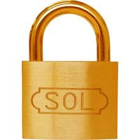 清水 SOL シリンダー錠50mm 2500-50 1個 769-4032(直送品)