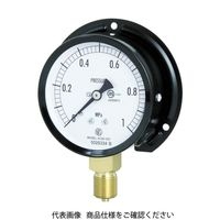 長野計器 普通形圧力計(B枠立形・φ75・G3/8B・0.0〜2.50Mpa) AC20-231-2.5MP 1個 498-4617 (直送品)