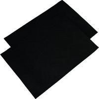 トラスコ中山(TRUSCO) 静電気除去テープ シートタイプ 320mmX230mm 2枚入 SDTS3223 1袋(2枚) 764-1338 (直送品)