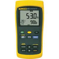 TFFフルーク(ティーエフエフフルーク) FLUKE 温度計(ロガー機能付・1チャンネル) 53-2B 1台 769-3311 (直送品)