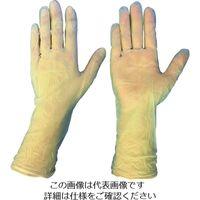 ブラストン(BLASTON) ブラストン PVC手袋ロング テクスチャータイプXLサイズ (100枚入) BSC-4300-XL 497-2708(直送品)