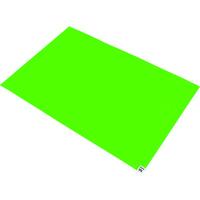 トラスコ中山(TRUSCO) 粘着クリーンマット 600×450MM グリーン 1シート 30枚 CM6045-1GN 767-9343 (直送品)
