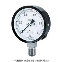 長野計器 普通形圧力計(A枠立形・φ75・G3/8B・0.0〜0.60Mpa) AC20-133-0.6MP 1個 498-4447 (直送品)