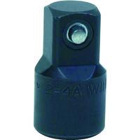 WILLIAMS 3/8ドライブ 3/8F×1/2M アダプター インパクト JHW2-4A 757-4541(直送品)